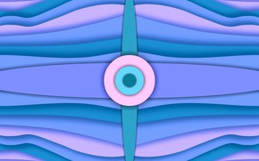 Picture wave, line, figure