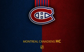 Picture wallpaper, sport, logo, NHL, hockey, Montreal Canadiens