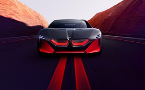 Picture road, coupe, BMW, 2019, Vision M NEXT Concept, before