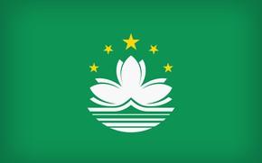 Picture Flag, Macau, National Symbol, Macau Large Flag, Flag Of Macau
