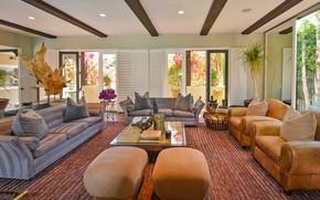 Picture room, interior, living room, Villa Carmelita