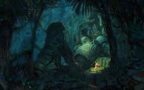 Picture robot, the ruins, ruins, Artur Sadlos, Vukileyo! (Mooeti)