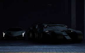 Picture Auto, Black, Lamborghini, Machine, Batman, Lambo, Batmobile, Matt, The Batmobile, Veneno, Lamborghini Veneno, Transport & …