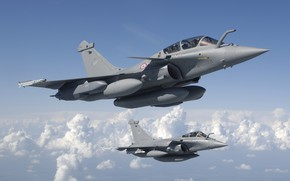 Picture Fighter, Dassault Rafale, The French air force, Air force
