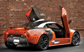 Picture Spiker, supercar, Spyker C8, Laviolette LM85
