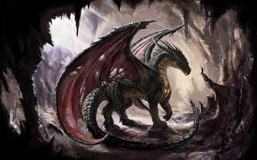 Picture Fantasy, Dragon, Art, Wallpaper