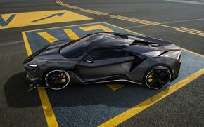 Picture Auto, Machine, Rendering, SuperSport, Fenyr, Benoit Fraylon, by Benoit Fraylon, Fenyr SuperSport, W Motors Fenyr …