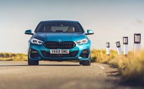 Picture BMW, front view, Gran Coupe, UK-spec, 2-Series, M Sport, 2020, 218i, F44