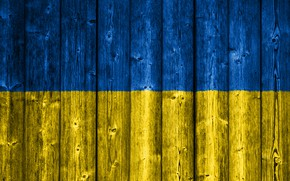 Picture Wood, Ukraine, Flag, Ukrainian, Wooden, Flag Of Ukraine, Ukrainian Flag