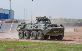 Picture The Russian Army, polygon exercises, Airborne, THE BTR-82A, APC