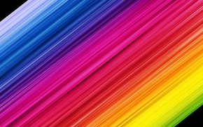Picture strip, colorful, rainbow