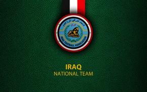Picture wallpaper, sport, logo, football, Iraq, National team