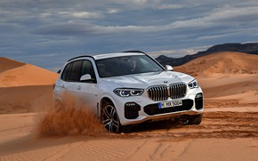 Picture desert, BMW, 2018, Sport, crossover, X5 M, XDrive30d