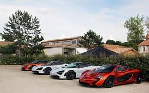 Picture auto, McLaren, pine, McLaren P1, 720S