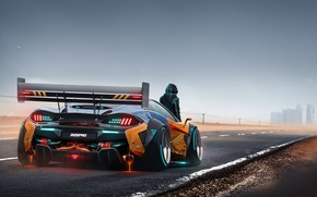 Picture McLaren, Auto, Future, People, Machine, Art, Supercar, Dmitry Strukov, Dizepro, by Dmitry Strukov, Dize_pro, Futuristic …