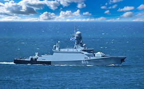 Picture ship, rocket, small, Orekhovo-Zuyevo