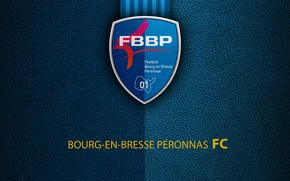 Picture wallpaper, sport, logo, football, Ligue 1, Bourg-En-Bresse Peronnas