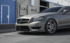 Picture CLS, Mercedes, BiTurbo, Silver, W218, 63AMG