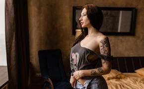 Picture sponge, Ilya Pistols, mole, chest, Ilya Pistoletov, tattoo, Darius Stefanova, P I S T O …