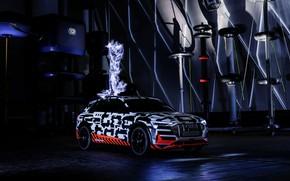Picture Audi, Prototype, 2018, electric, E-Tron