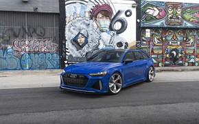 Picture Audi, Blue, Before, RS6, VAG