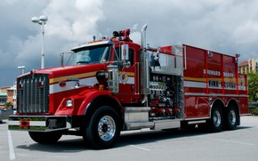 Picture Kenworth, Kenworth, Fire truck, Special vehicle