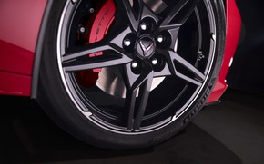 Picture Corvette, Chevrolet, Disk, Wheel, Stingray, Icon, Brake disc, 2020, Chevrolet Corvette ( C8 ) Stingray
