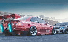 Picture Auto, BMW, Machine, Tuning, Style, Machine, Car, Style, Rendering, BMW M3 E46, Transport & Vehicles, …