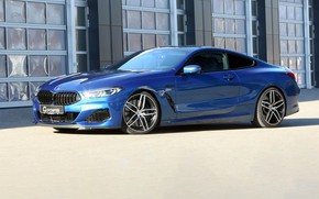 Picture machine, lights, tuning, coupe, BMW, drives, G-Power, xDrive, 8-Series, 2019, G15, M850i