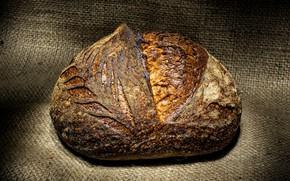 Picture bread, burlap, roll, crust