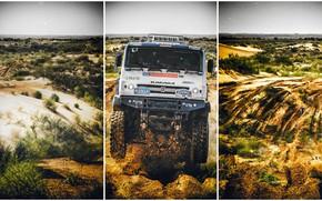 Picture Sand, Sport, Machine, Truck, Master, Russia, Kamaz, Rally, KAMAZ-master, Rally, KAMAZ, The front, The roads, …