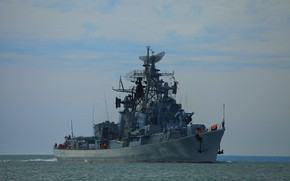 """Picture Navy, project 61, patrol, quick-witted, """"singing frigate"""
