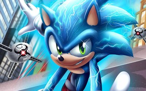 Picture drones, Sonic the Hedgehog, Sonic movie