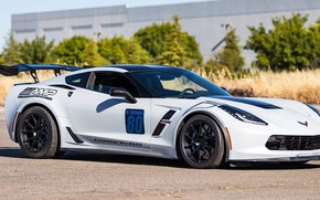 Picture Corvette, Grand, One, chevrolet, Forged, Sport, Wheels, Piece, GA1R, Forgeline, Monoblock