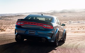 Picture Dodge, Charger, Hellcat, SRT, 2020, Dodge Charger SRT, Hellcat widebody