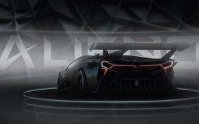 Picture Lamborghini, Machine, Car, Render, Supercar, Night, Aventador, Lamborghini Aventador, Rendering, Supercar, Concept Art, Sportcar, Encho …