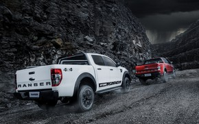 Picture movement, the slopes, Ford, pickup, Storm, breed, Ranger, 2020