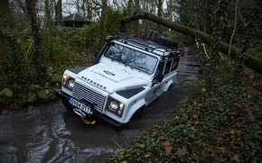 Picture SUV, Land Rover, Defender, 2015