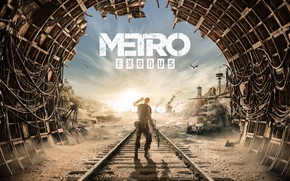 Picture Art, Metro, 4A Games, Deep Silver, Exodus, Metro Exodus, Artem