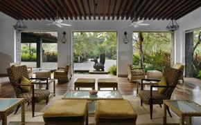 Picture Villa, interior, living room