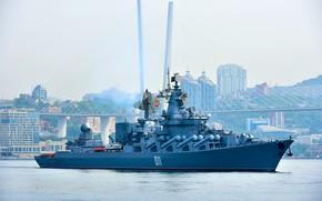 Picture Vladivostok, The Vikings, cruiser, guards, rocket
