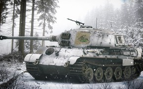 Picture King tiger, Panzerkampfwagen VI Ausf. B, Tiger II, German heavy tank, Antonis (rOEN911) Karidis, Nazi …