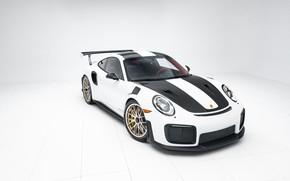 Picture Porsche, Front, White, 991, VAG, Sight, GT2RS