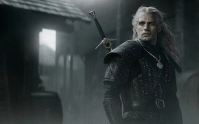 Picture look, hero, male, The Witcher, The Witcher, Geralt, Henry Cavill, Netflix