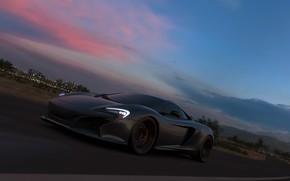 Picture McLaren, Microsoft, supercar, game, Forza Horizon 3