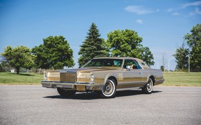 Picture Lincoln, Continental, Car, Old