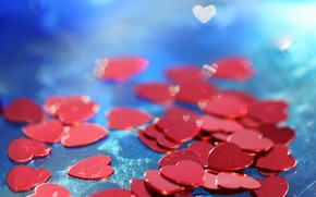 Picture background, heart, Valentine's Day