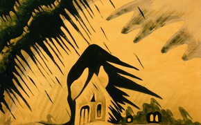 Picture 1918, Charles Ephraim Burchfield, The East Wind