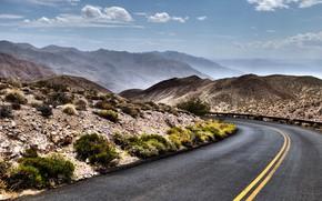 Picture road, nature, desert