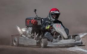 Wallpaper race, sport, karting